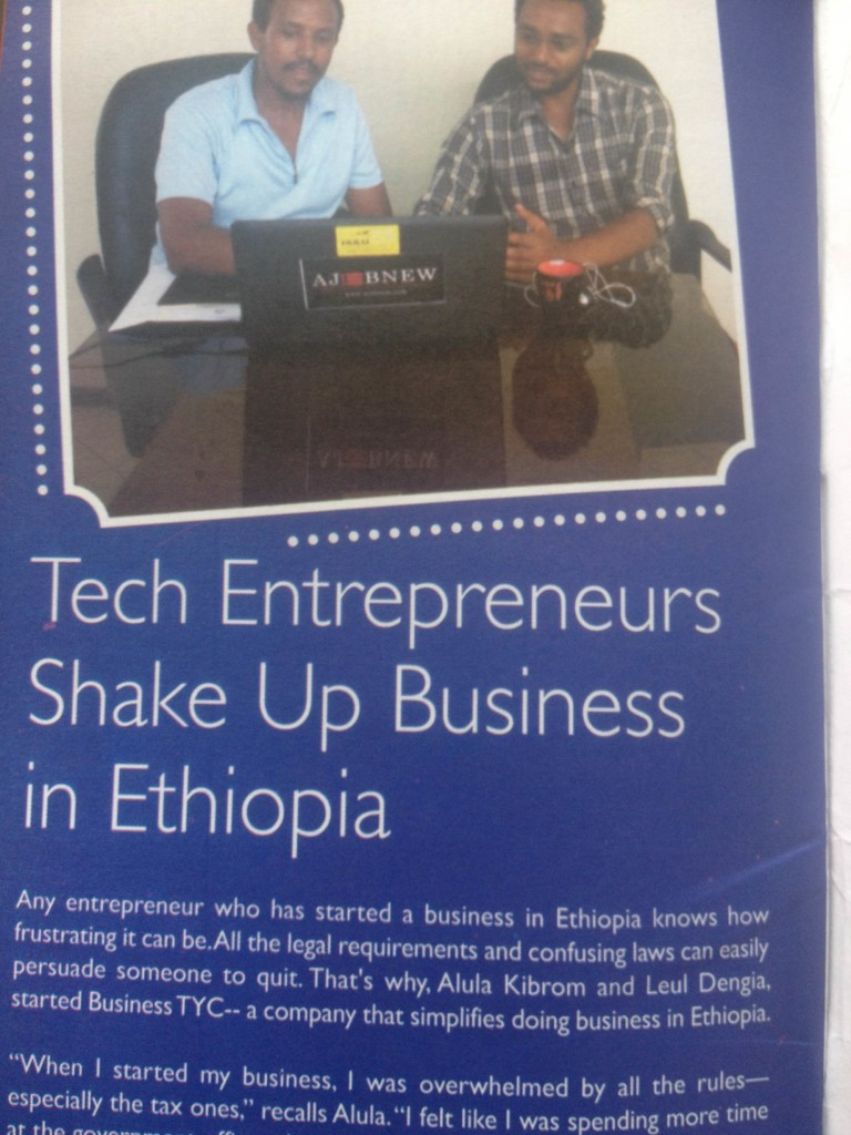 BusinessTYC on What's Out! ADDIS