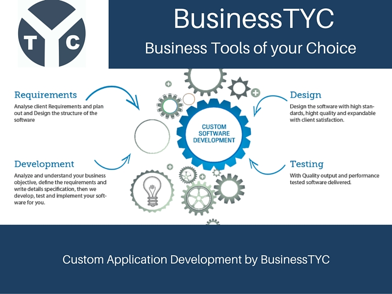 Custom Application Development in Ethiopia by BusinessTYC
